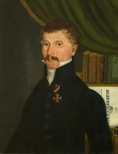 Dmitrije-Davidovc-1834-delo-Urosa-Knezevica-ulje-na-platnu-zbirka-Narodnog-muzeja-Beograd